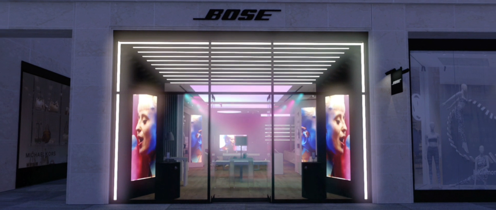 Bose, the imaginarium by night
